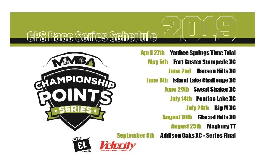 2019 Michigan Mountain Biking Association Cps Race Series